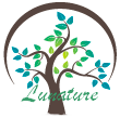 Logo arbre lunature